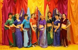 Doris Schmidl Tanzgruppe Sidala