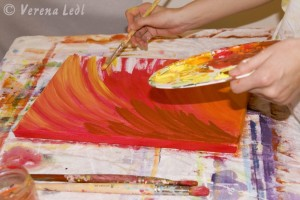 Verena Ledl_Intuitives Malen
